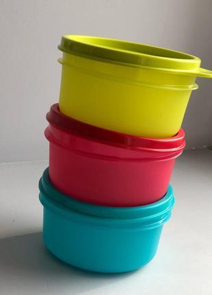 Сервировочные чаши 200 мл 3 шт Tupperware