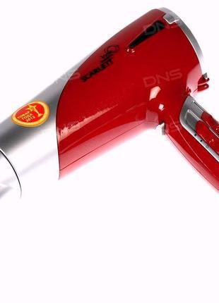 Фен для волос новый с гарантией scarlett sc-1077 мощный-2000 в...