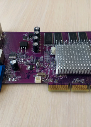 Видеокарта AGP GeForce 4 MX440 8x 64 mb