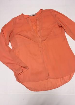 Рубашка легкая с длинным рукавом