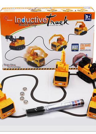 Индуктивная умная игрушка машинка Inductive Truck