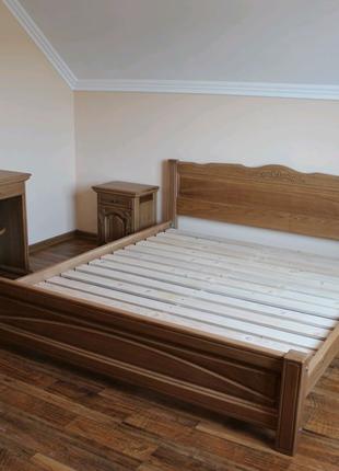 Спальня дерев'яна з масиву дуба