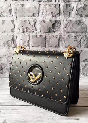 Натуральная кожаная женская трендовая сумка