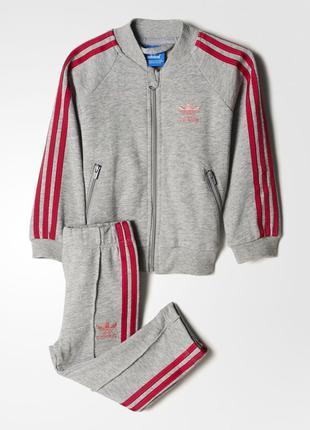 Детский костюм adidas originals trefoil(артикул:bk4630)