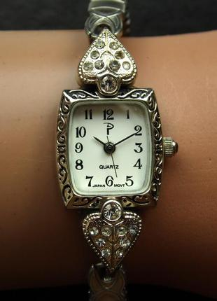 Losada винтажные часы из сша браслет twist-o-flex мех. japan sii