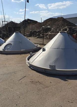 Бункера вентилируемые ОБВ 40