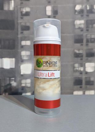 Сыворотка и дневной крем 2 в 1 garnier ultralift 50ml (полный)