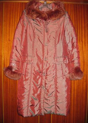 Фирменное пальто
