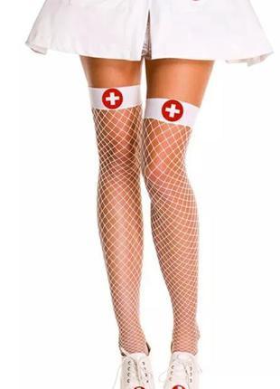 Секси чулки медсестры