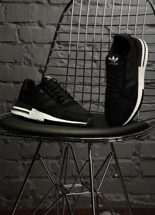 Кроссовки Adidas ZX 500 RM Black|White