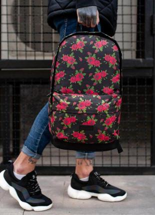 Рюкзак с розами 🔥
