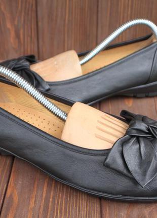 Туфли gabor кожа германия 38,5р балетки