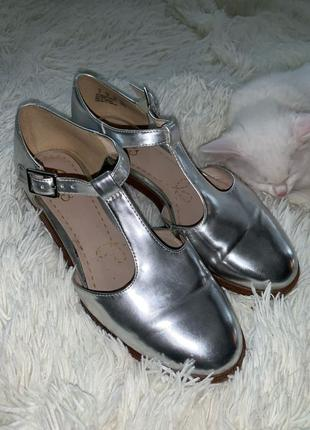 Туфли-балетки кожаные Clarks Somerset размер 37/23.5см