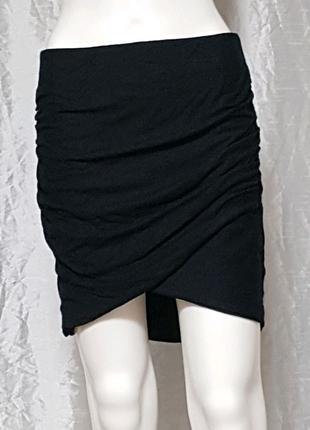 Черная юбка, состояние хорошее
