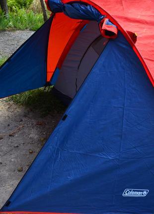 Палатка 2-х местная Coleman X-3006 (УСИЛЕННАЯ).