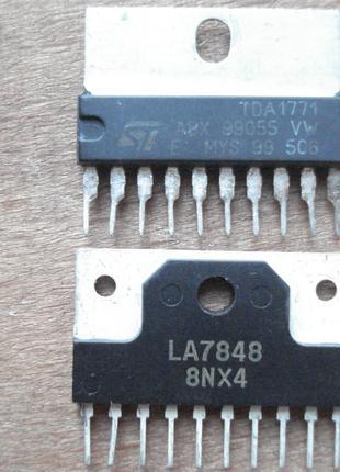 LA7848 и TDA1771