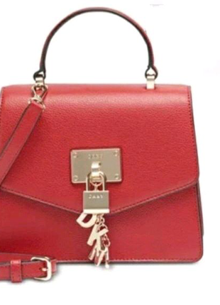 Кожаная сумка DKNY оригинал