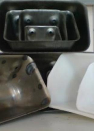 Ковши норийные штампованные (цельнотянутые), пластиковые, цельног