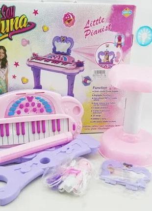 Детское пианино для девочек с караоке функцией НМ557-104