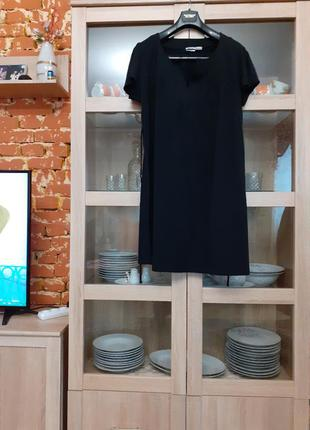 Очаровательное котоновое платье большого размера