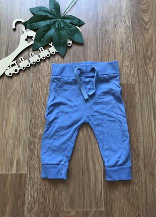 Крутые штаны брюки хлопок mini club 0-3 мес