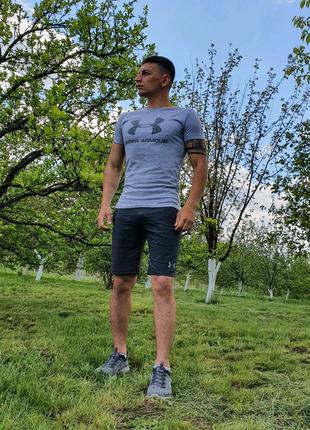 Мужской спортивный костюм, мужские шорты, мужская футболка
