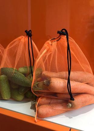 эко мешочки торба торбинка фруктовка сетка для овощей еко мішечки