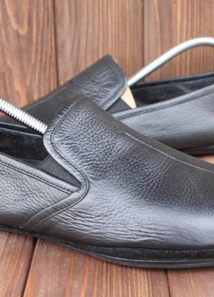 Слипоны dolcis кожа италия 42р мокасины кеды туфли