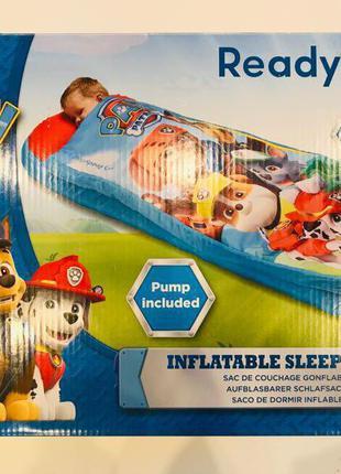 Детская надувная кровать Щенячий патруль