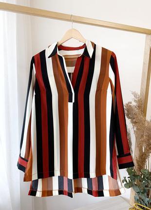 Рубашка/блузка в полоску