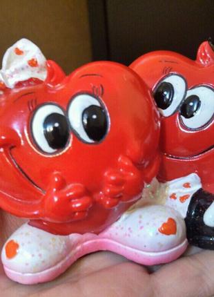 Сувенир статуэтка два милых сердца