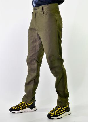 Eclectik / Nere Waxed Pants olive drab / Sale!