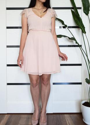 Платье с кружевом (новое, с биркой) elise ryan