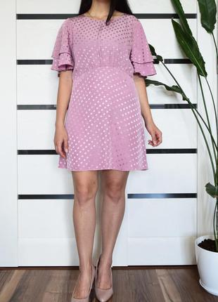 Платье в горох (новое, с биркой) mango