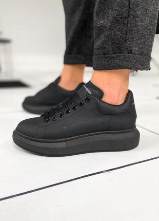 Тренд мужские кроссовки 🔥alexander mcqueen black metal