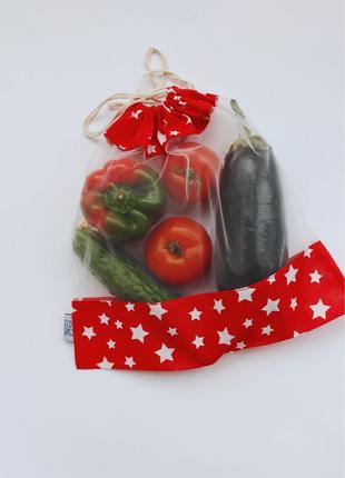 Мешочки тканевые для фруктов и овощей