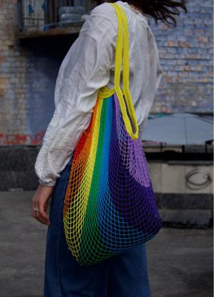 Авоська разноцветная
