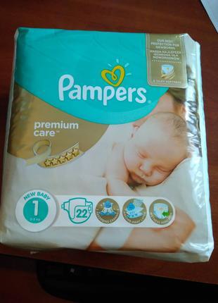 Памперсы/Подгузники Pampers Premium Care 1
