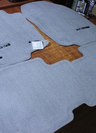 NEW! Оригинальные коврики черные TOYOTA RAV-4 фирменные JAPAN