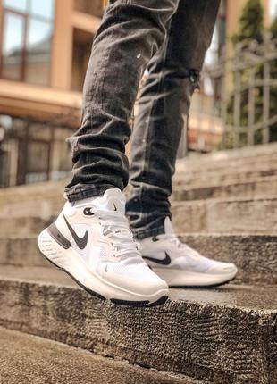 Мужские белые кроссовки nike