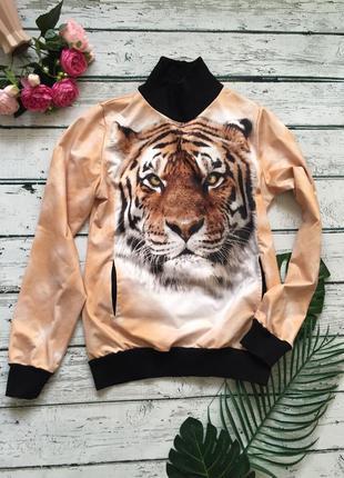 3d свитшот тигр свитер