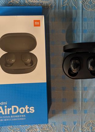 Оригинал TWS Наушники Xiaomi Redmi airdots Беспроводные Bluetooth