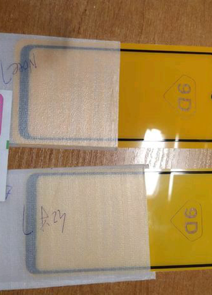 Защитные стекла на Xiaomi Redmi Note7, Redmi7, Redmi8t, Redmi not