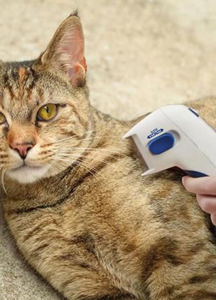 Электрическая расческа flea doctor от блох, щетка от блох