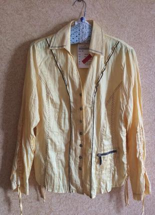 Стильный летний пиджак трансформер блуза bonita