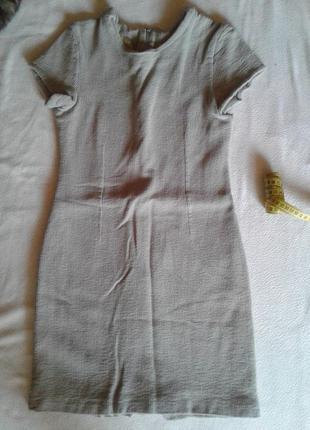 Стильное осеннее платье