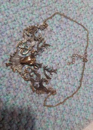 """Колье """"олень"""", ожерелье женское"""