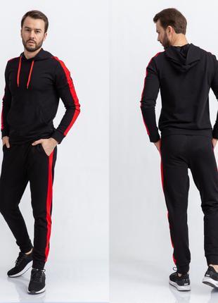 Спорт костюм мужской цвет Черный