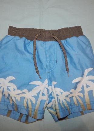Шорты модные пляжные на мальчика 1,5-2 года