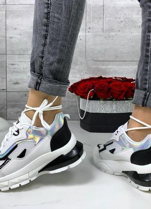 Кроссовки 🌿 текстиль женские платформа кросы толстая подошва